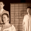 Left to right: Samson Syharath as Stepbrother, Chisao Hata as Stepmother, Wynee Hu as Mei Mei.