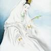 """""""Lady Buddha,"""" painting by Willow Zheng."""