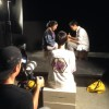 Videographer Grant Abbett films Wynee Hu as Mei Mei, Chisao Hata as Stepmother, and Samson Syharath as Stepbrother.